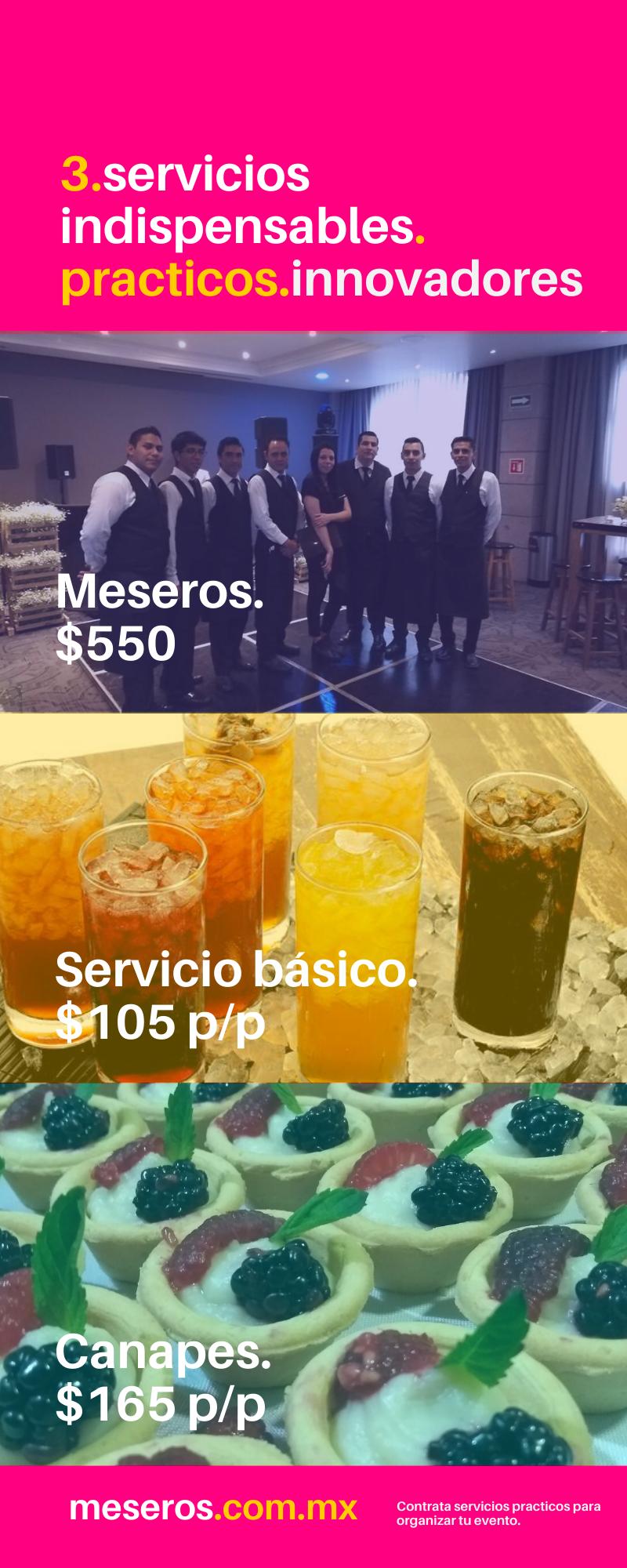3 servicios practicos
