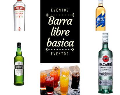 Barra libre básica (nacional)