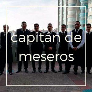 Capitán de meseros