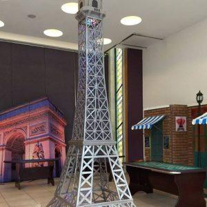 Eventos de fin de año en 3 pasos, Personaliza tu evento, fiesta tema Paris,