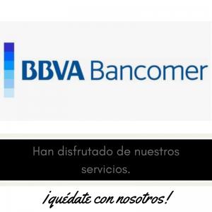 Nuestros clientes , meseros y eventos . BBVA Bancomer