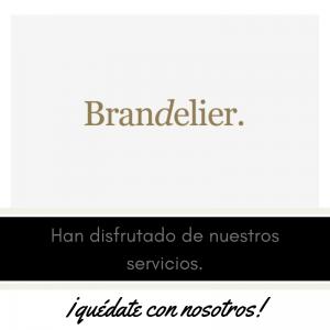 Nuestros clientes , meseros y eventos . Brandelier