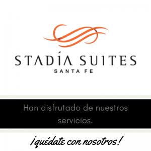 Nuestros clientes , meseros y eventos . Stadia Suites