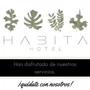 Nuestros clientes , meseros y eventos , Habita