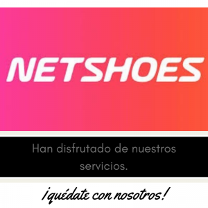 Nuestros clientes , meseros y eventos , Netshoes