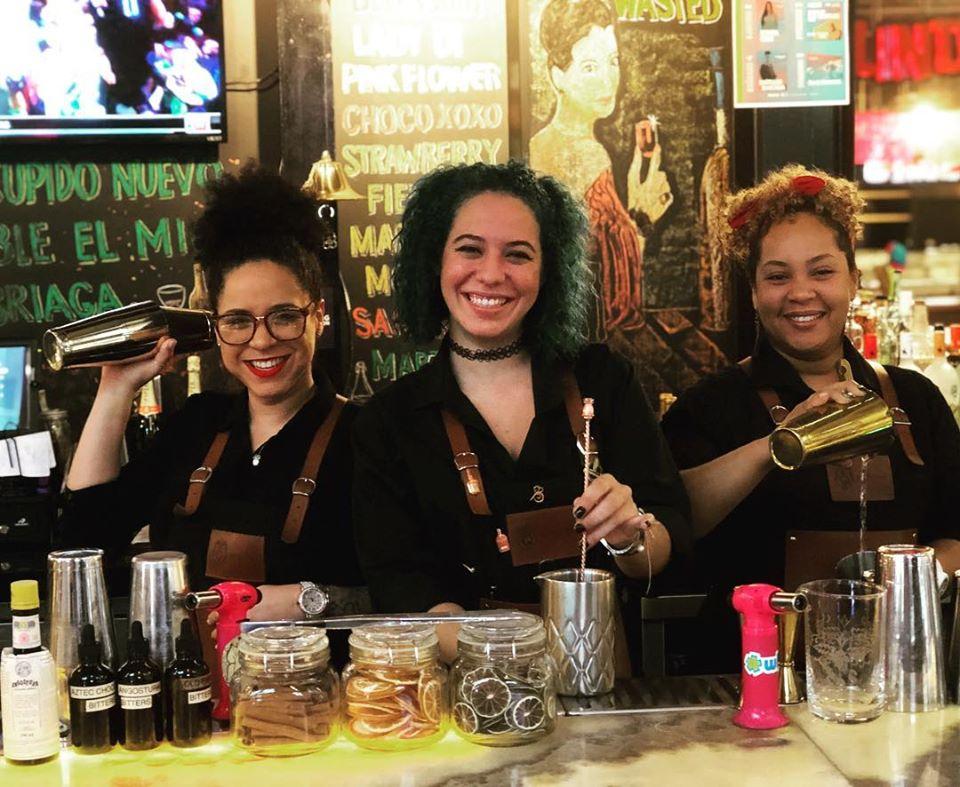 Bartenders mujeres