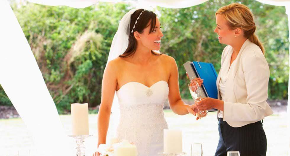 Meseros y Wedding Planners