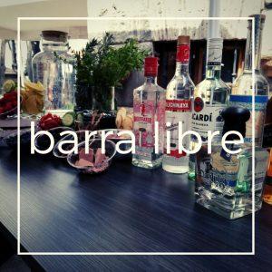 Barra Libre para bodas y eventos sociales o empresariales