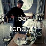 bartenders para eventos. complemento de servicio de meseros