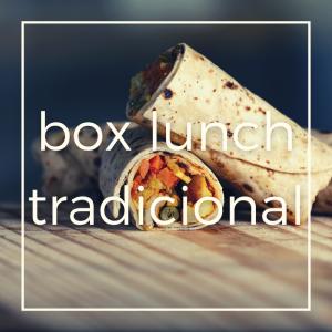 Box Lunch Tradicional para eventos virtuales como reuniones de trabajo o fin de año