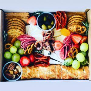 Gourmet Box Lunch para eventos virtuales, para 14 de febrero, para working lunch