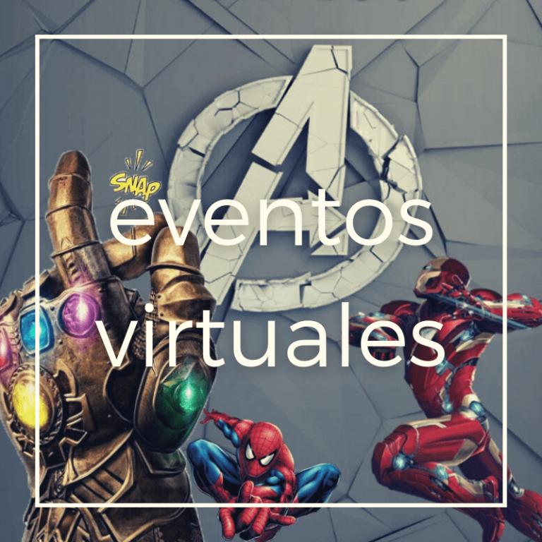Eventos virtuales para teambuilding 2021 Avengers