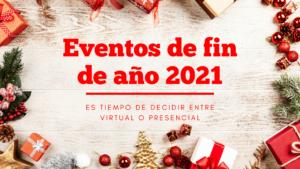 Eventos de fin de año 2021